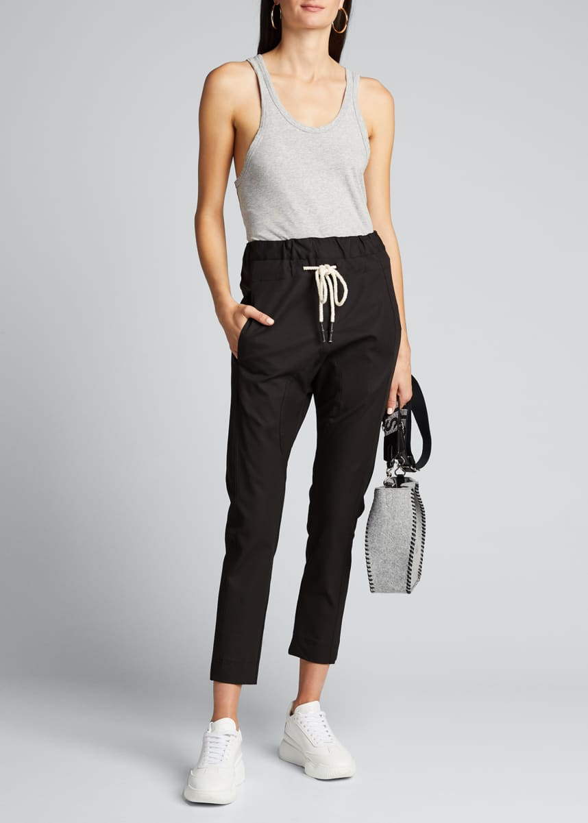 Bassike Stretch Relaxed Drawstring Pants