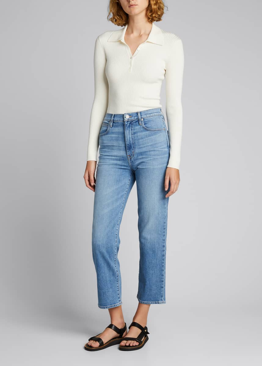 SLVRLAKE London Cropped Jeans