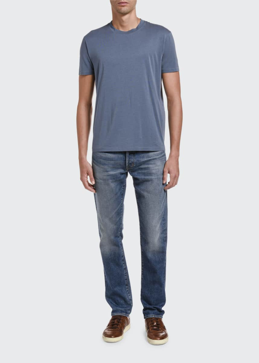 TOM FORD Men's Solid Jersey T-Shirt
