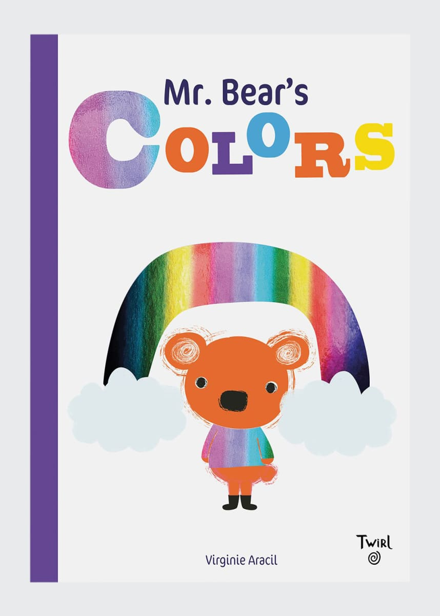 "Chronicle Books ""Mr. Bears Colors"" Children's Book"
