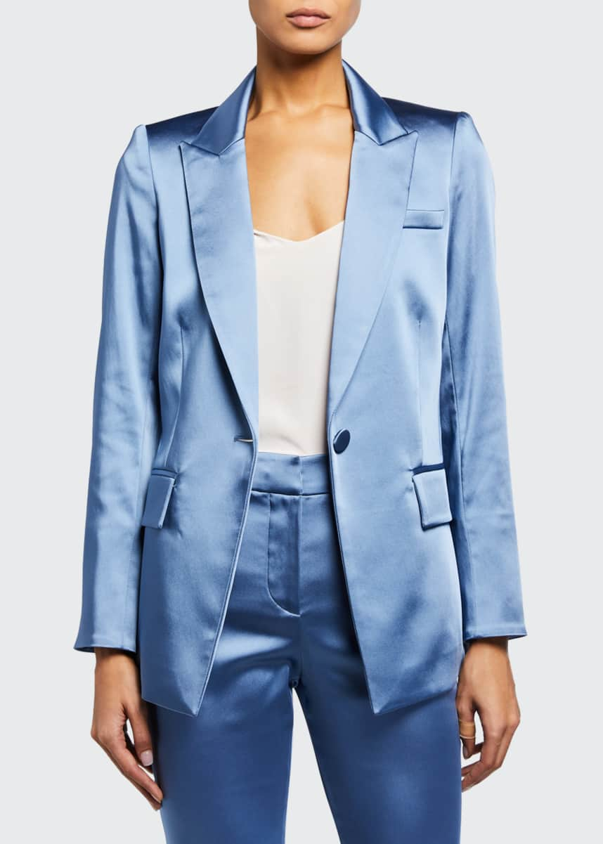 Veronica Beard Medi Satin Jacket