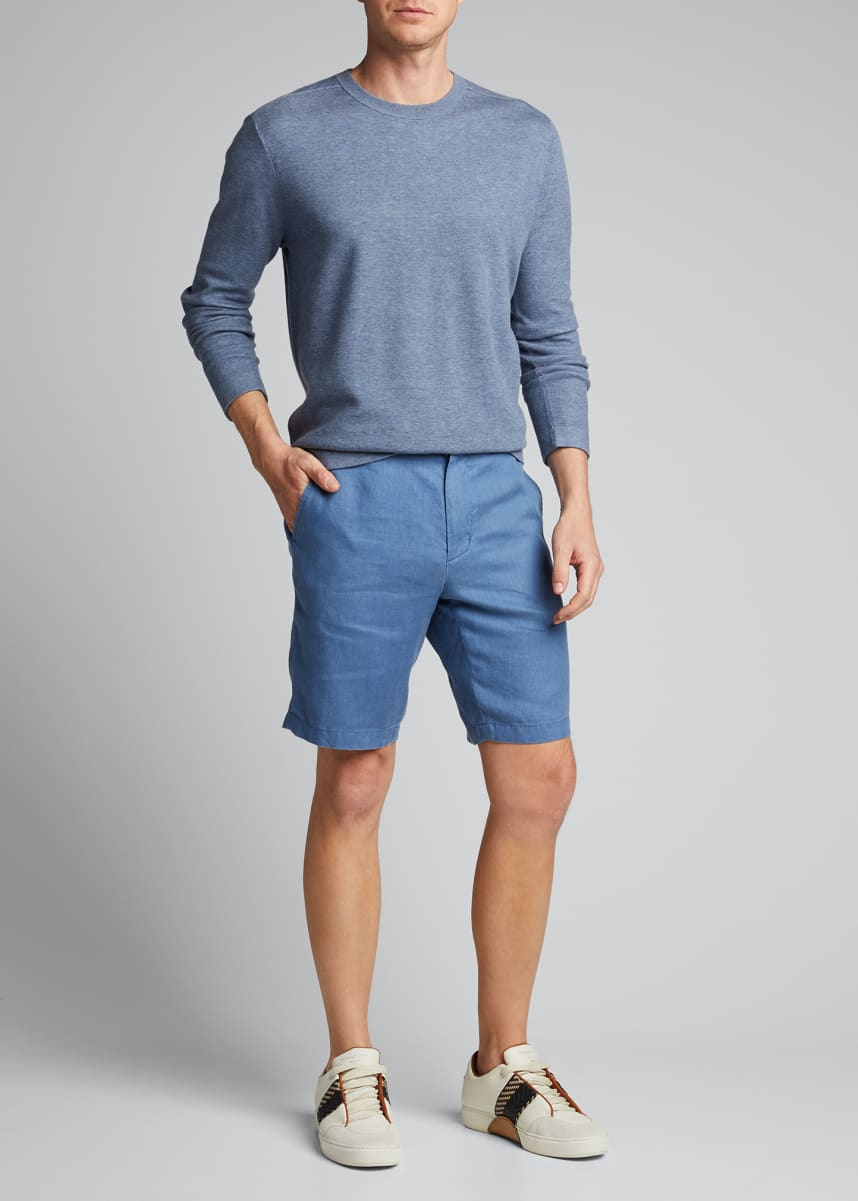Vince Men's James Solid Hemp Shorts