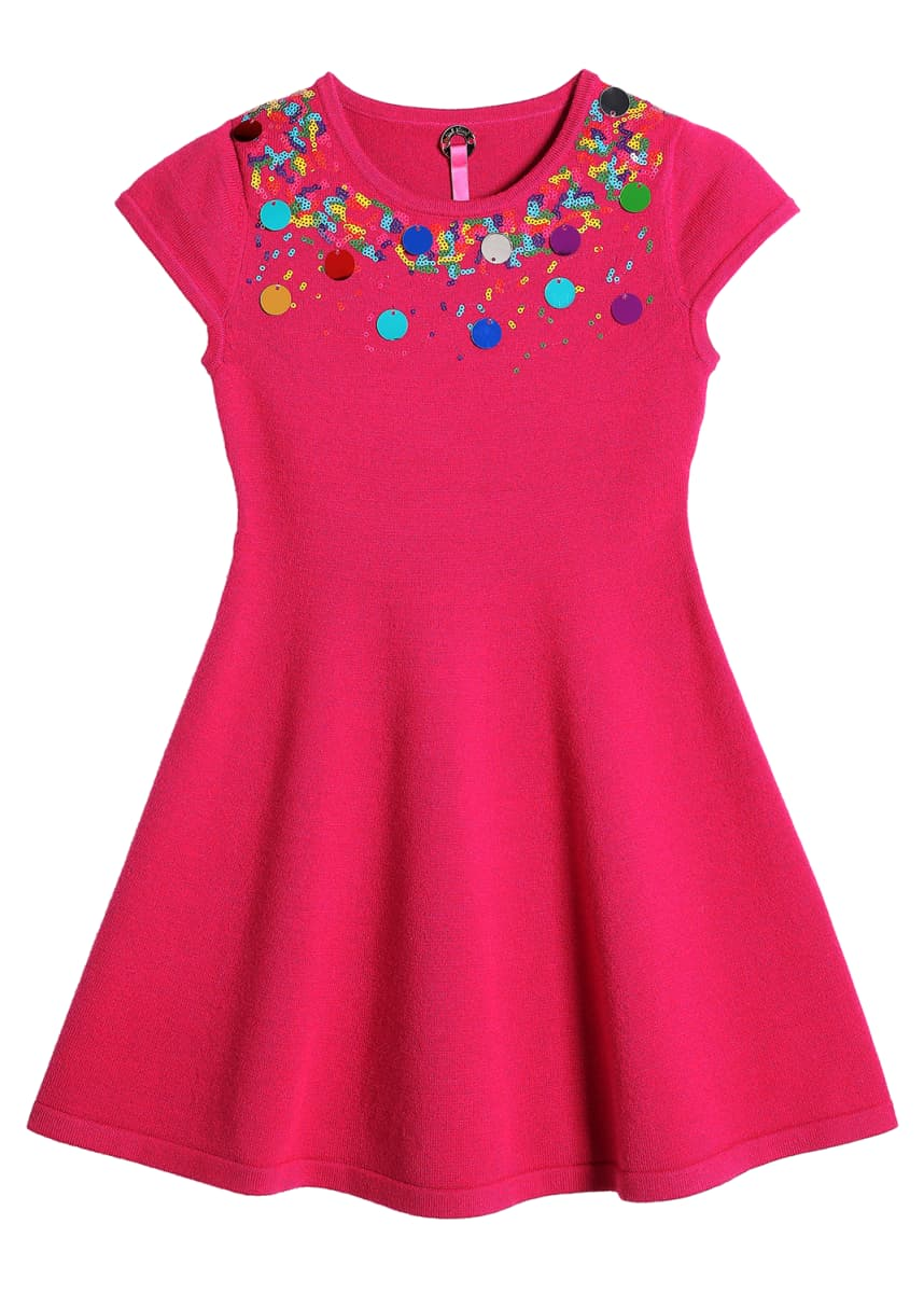 Pink Thread Girl's Confetti Swing Dress, Size 4-16