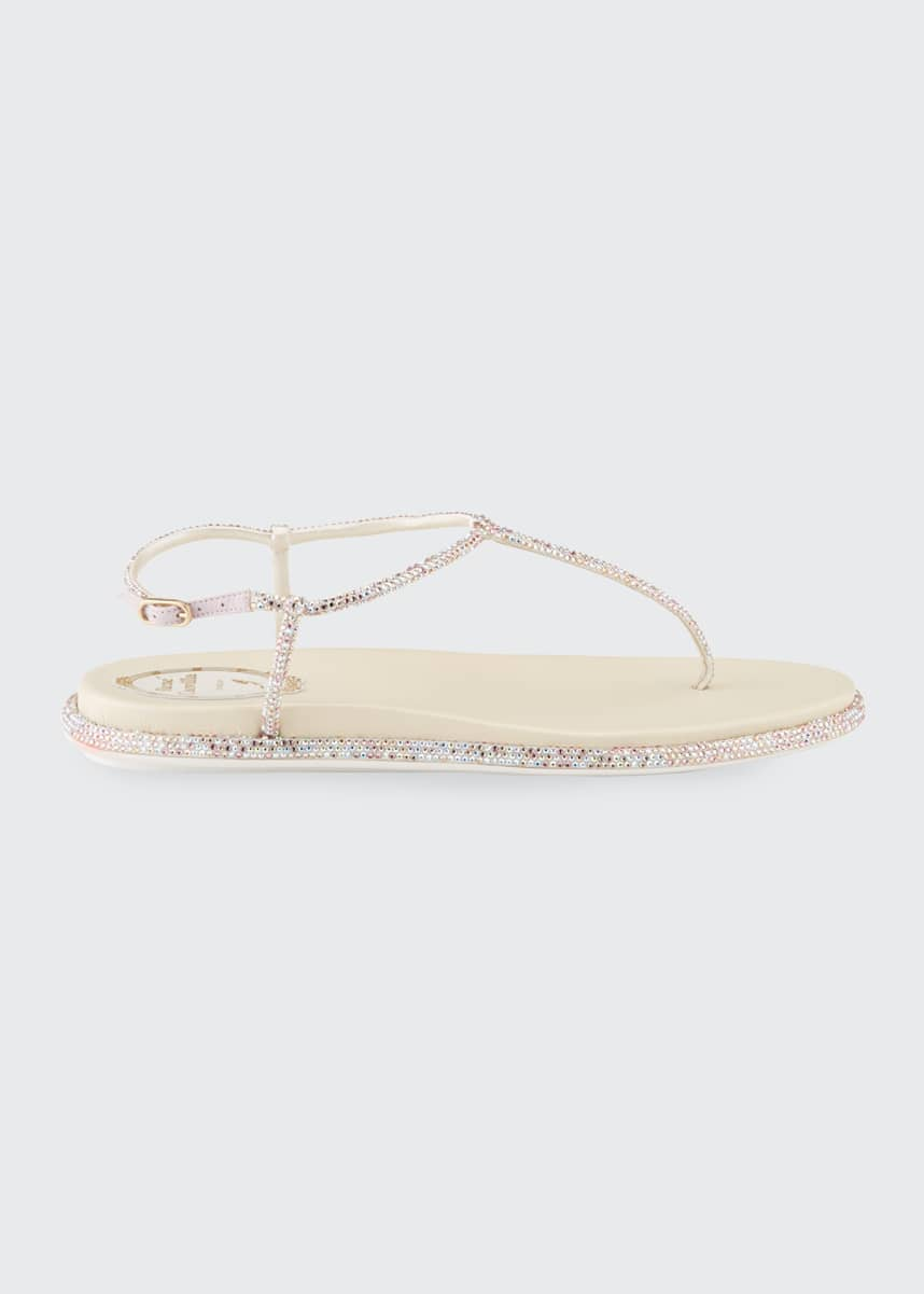 Rene Caovilla 25mm Flatform Thong Sandals