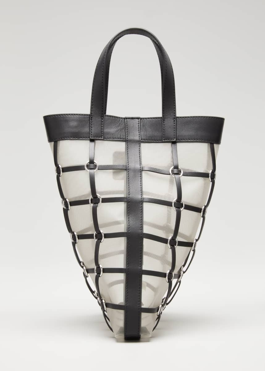 3.1 Phillip Lim Billie Mini Twisted Cage Tote Bag
