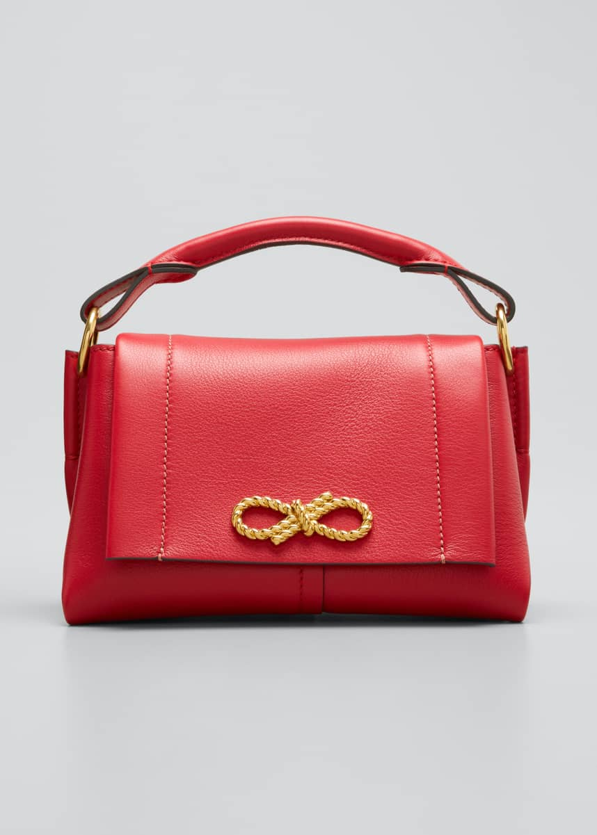 Anya Hindmarch Rope Bow Bag Mini in Soft Leather