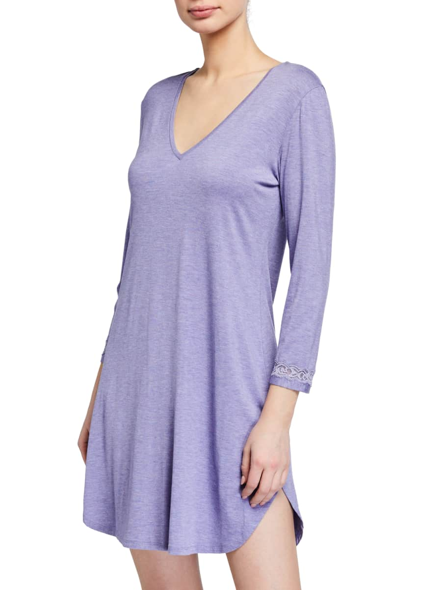 Natori Feathers Essentials Jersey Sleepshirt