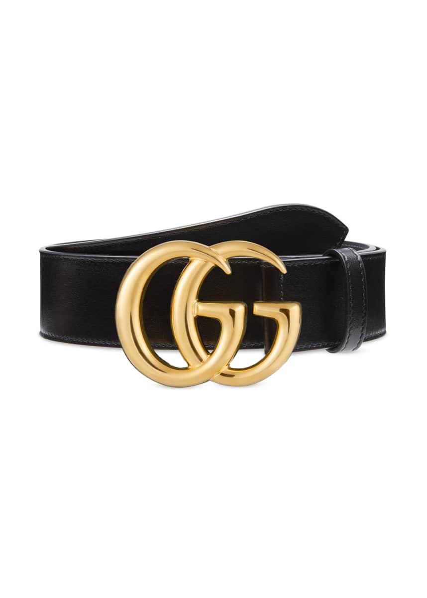 Gucci Men's GG Marmont 40mm Leather Belt