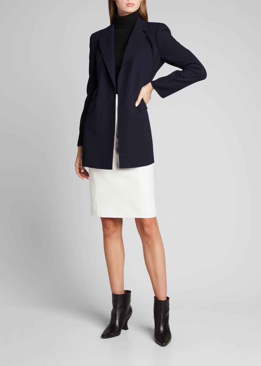 Akris Double-Face Wool Jacket