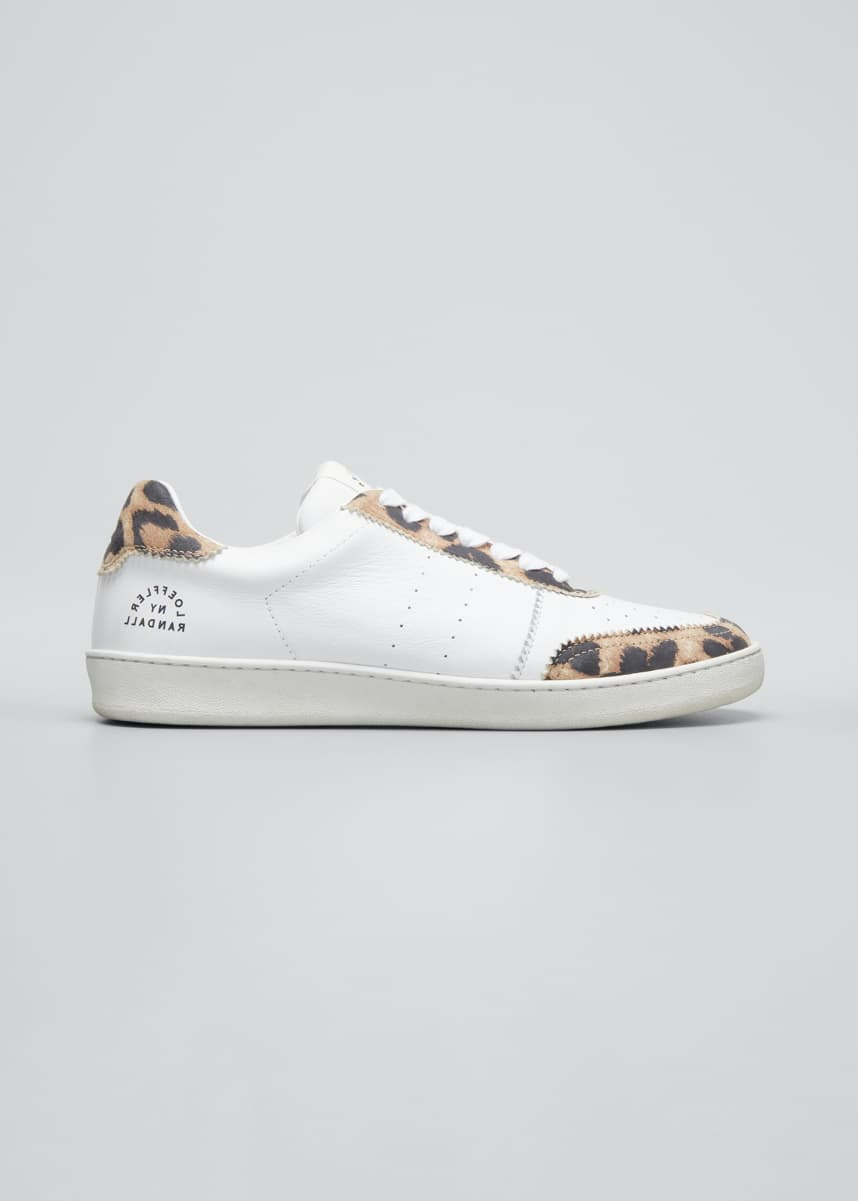 Loeffler Randall Keeley Color Splash Low-Top Sneakers