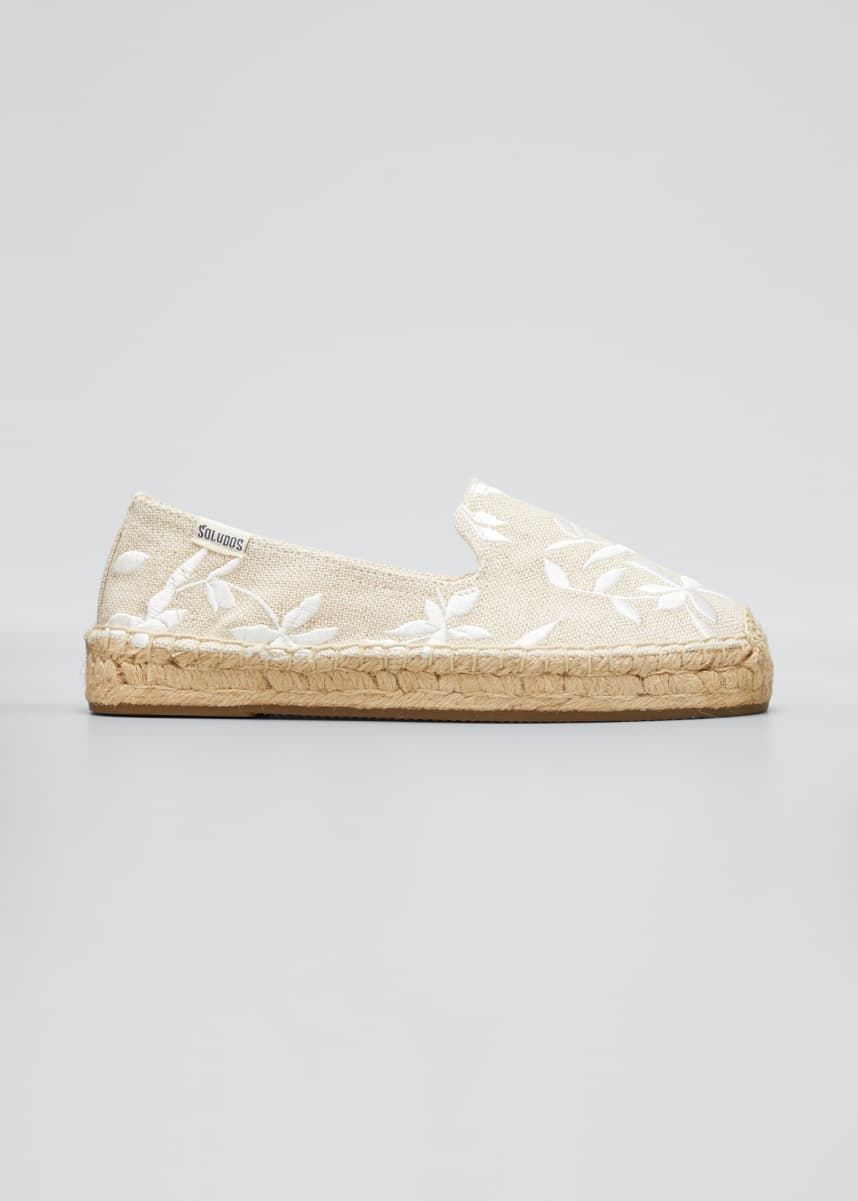 Soludos Shiloh Floral Embroidered Espadrilles