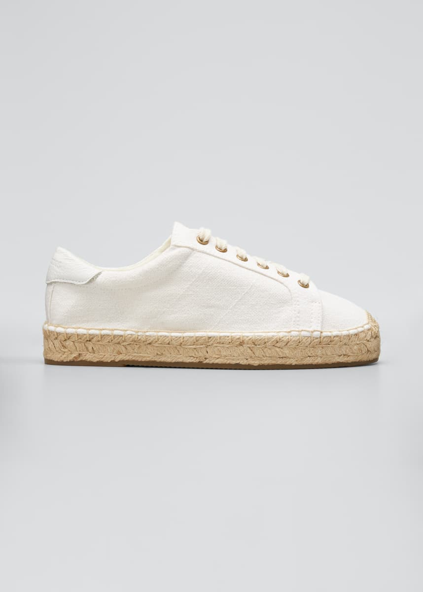 Soludos Izzy Lace-Up Espadrille Sneakers