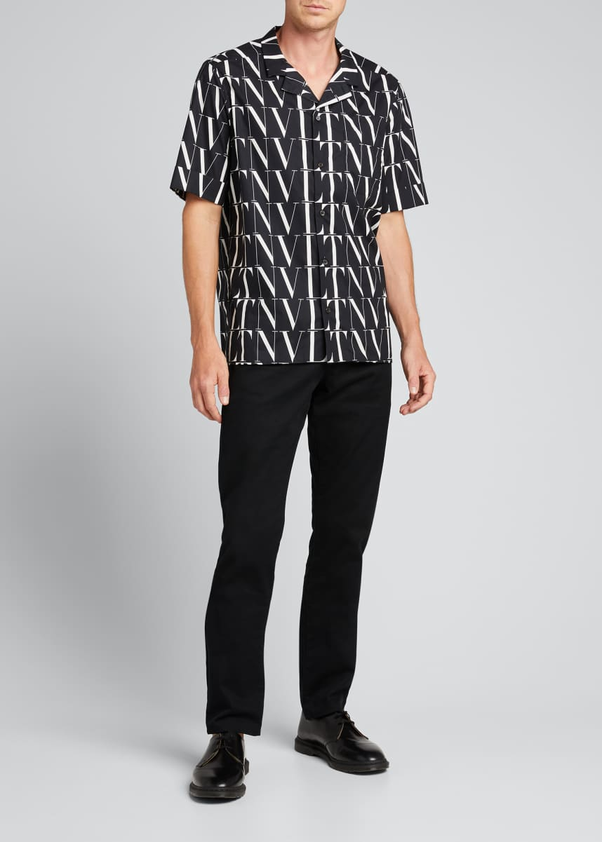 Valentino Men's VLTN Times Short-Sleeve Shirt