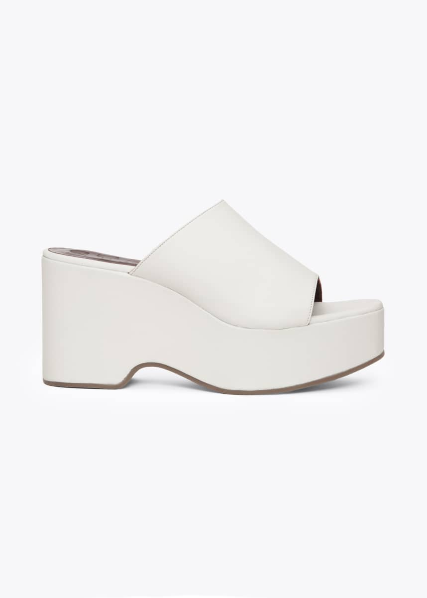 Staud 95mm Flatform Slide Sandals