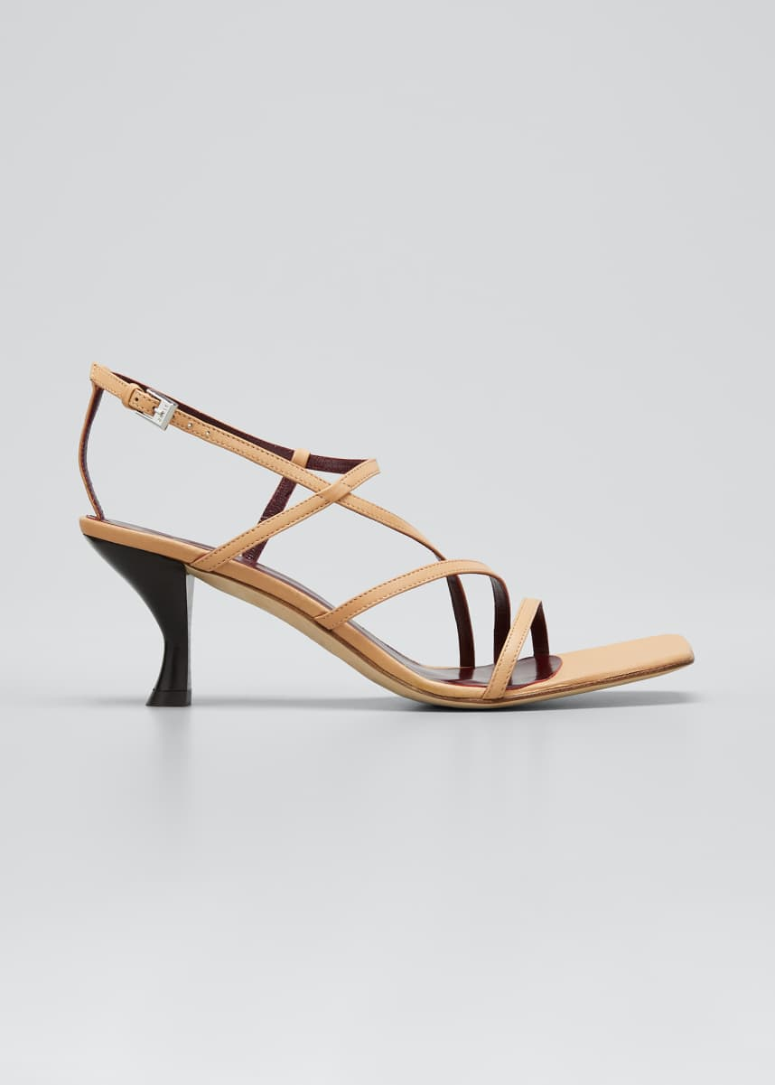 Staud 60mm Multi-Strap Sandals