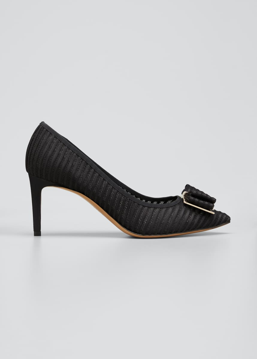 Salvatore Ferragamo Zeri Vara Bow Pumps