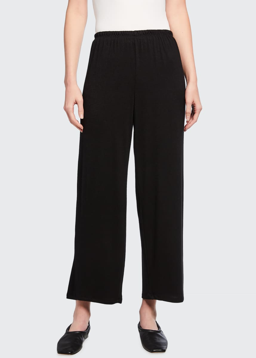 Vince Relaxed Wide-Leg Cropped Pants