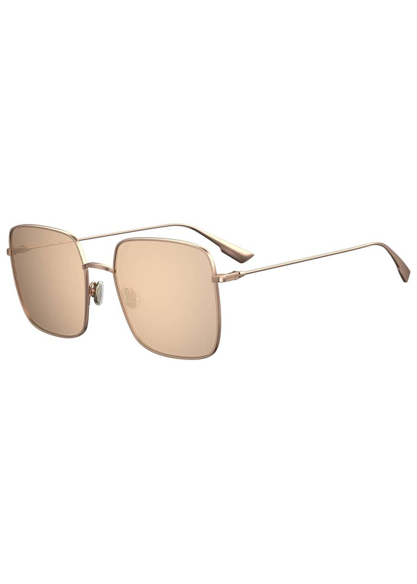 Dior Stellaire1XS Square Metal Sunglasses