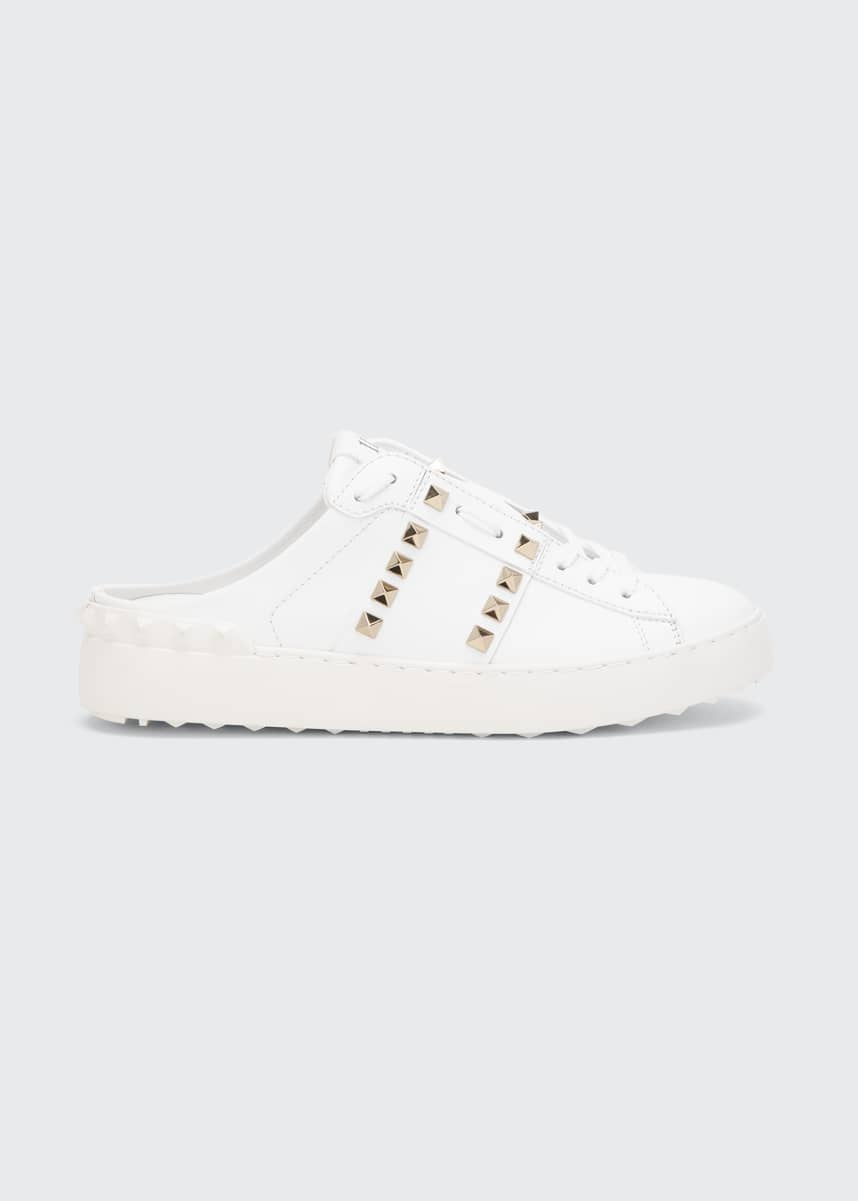 Valentino Garavani Rockstud Leather Mule Sneakers