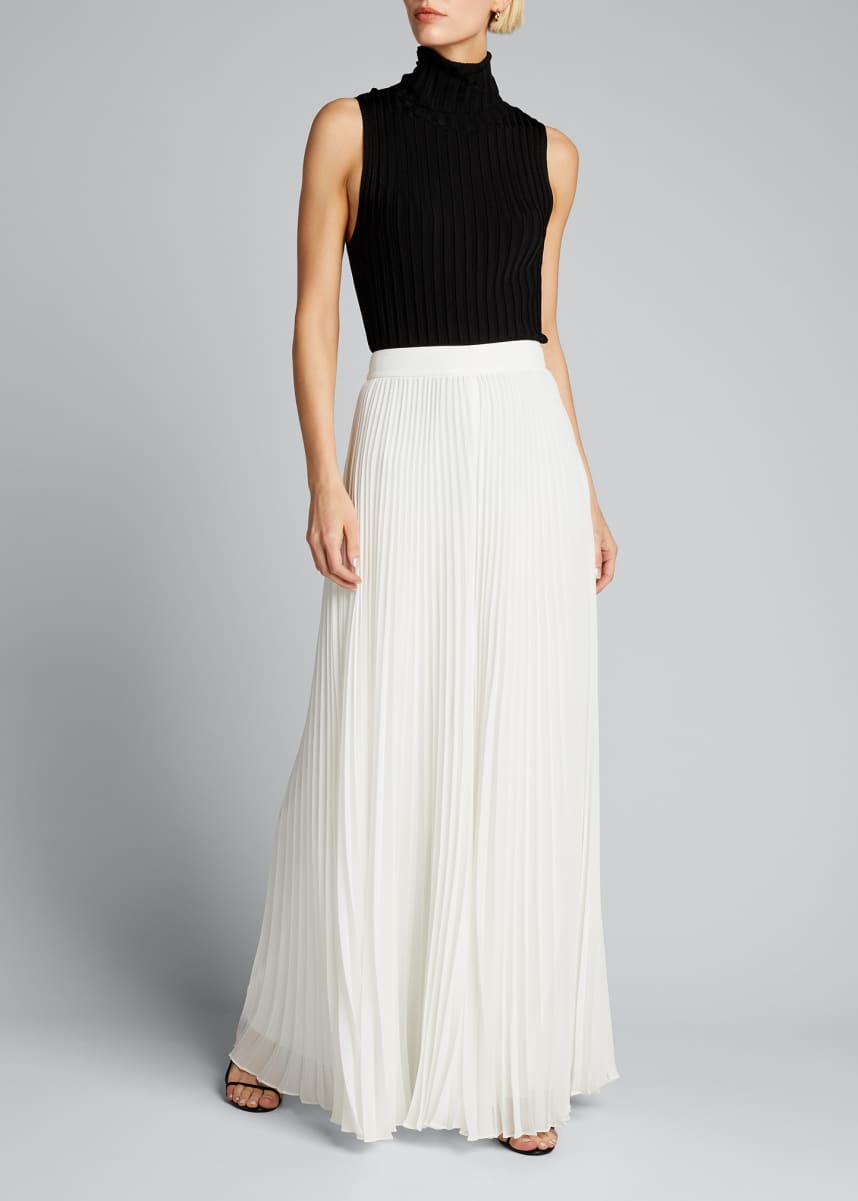 Badgley Mischka Collection Pleated Palazzo Pants