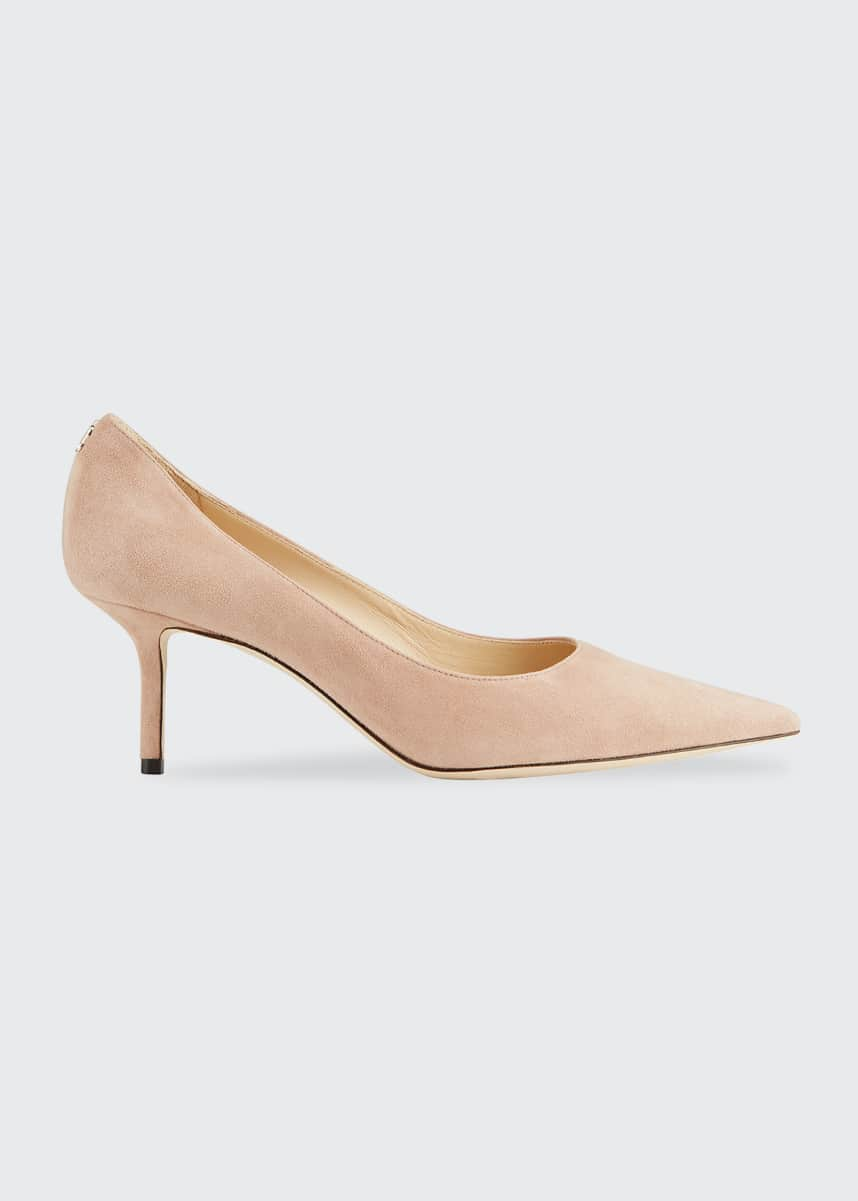 Jimmy Choo Love 65mm Suede Pumps