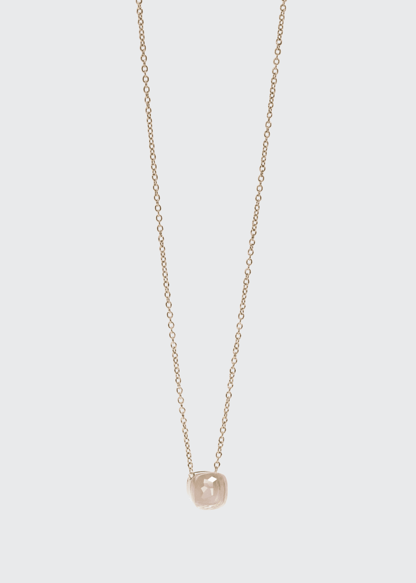 Pomellato Nudo Pink Doublet Pendant Necklace