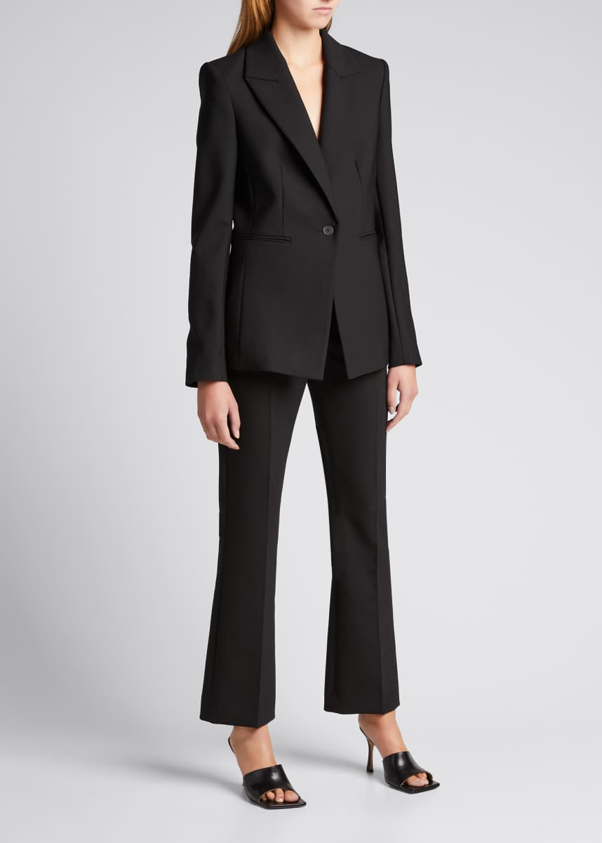 Dion Lee Braided Spine Wool-Blend Jacket