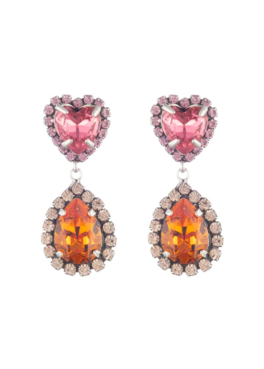 Dannijo Kate Crystal-Drop Earrings