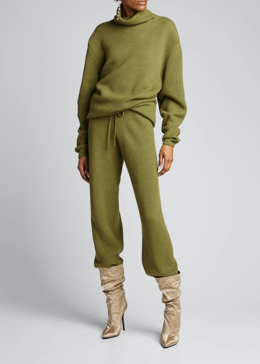 Fenty Oversized Wool Turtleneck Sweater