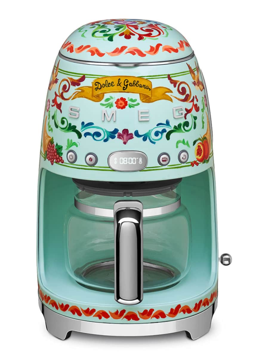 Smeg Dolce Gabbana x SMEG Drip Coffee Machine