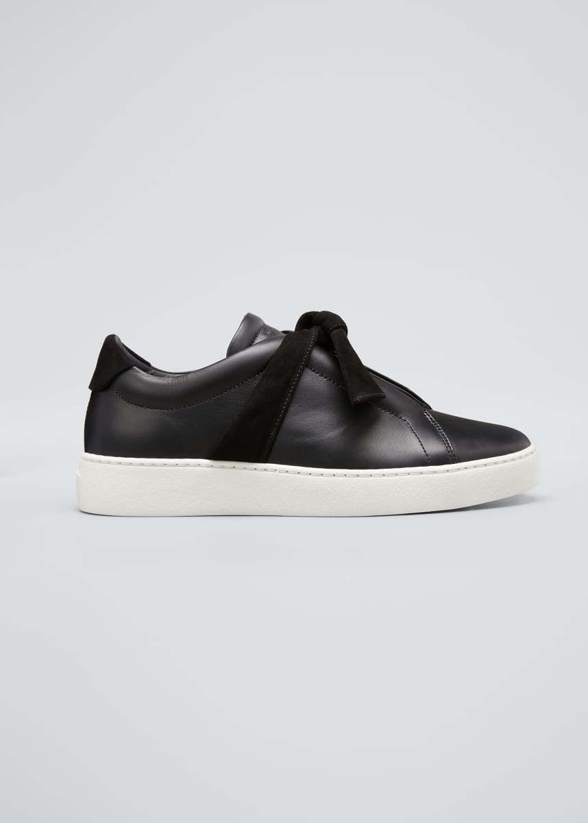 Alexandre Birman Clarita Low-Top Knotted Sneakers
