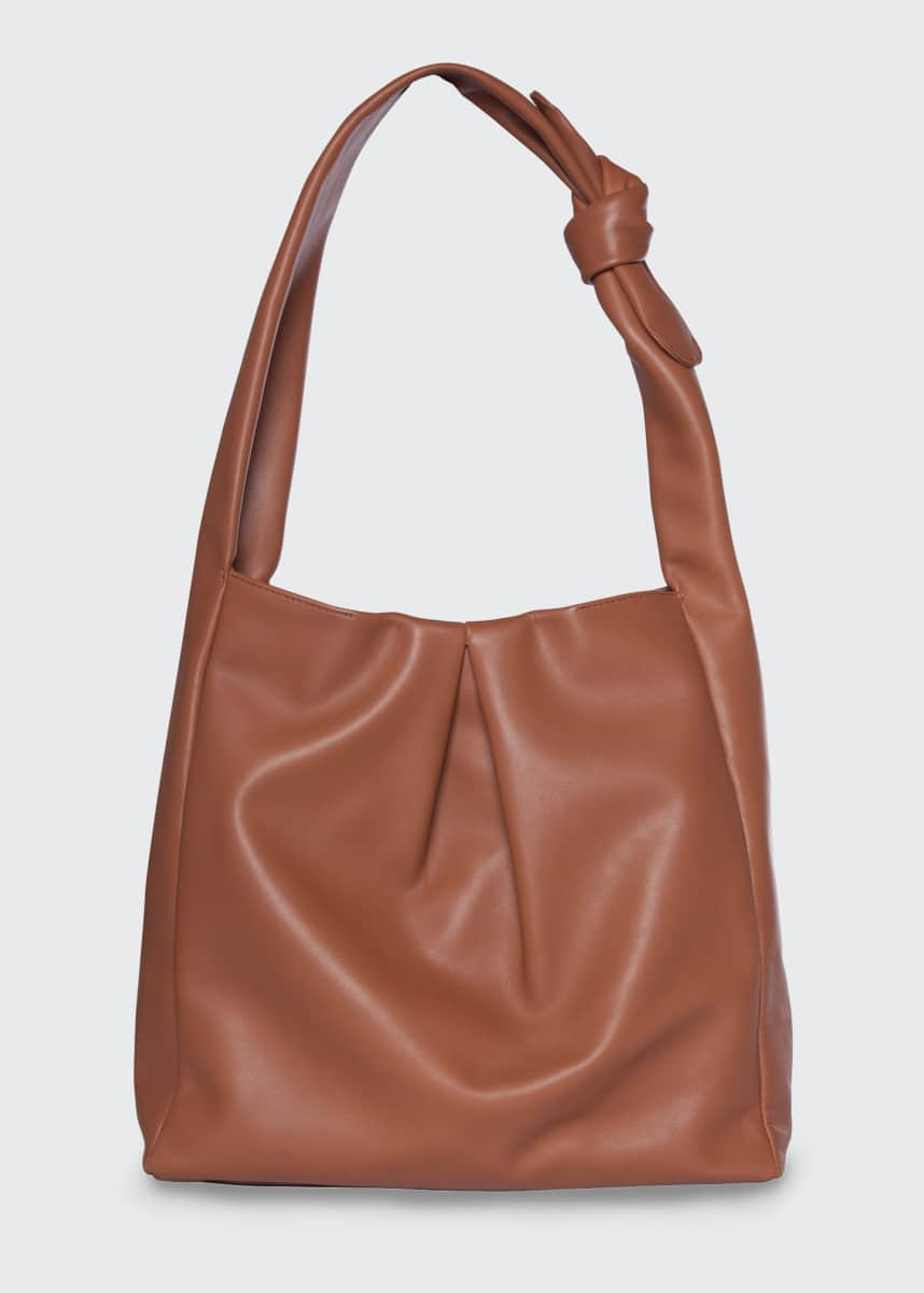 Staud Island Leather Tote Bag