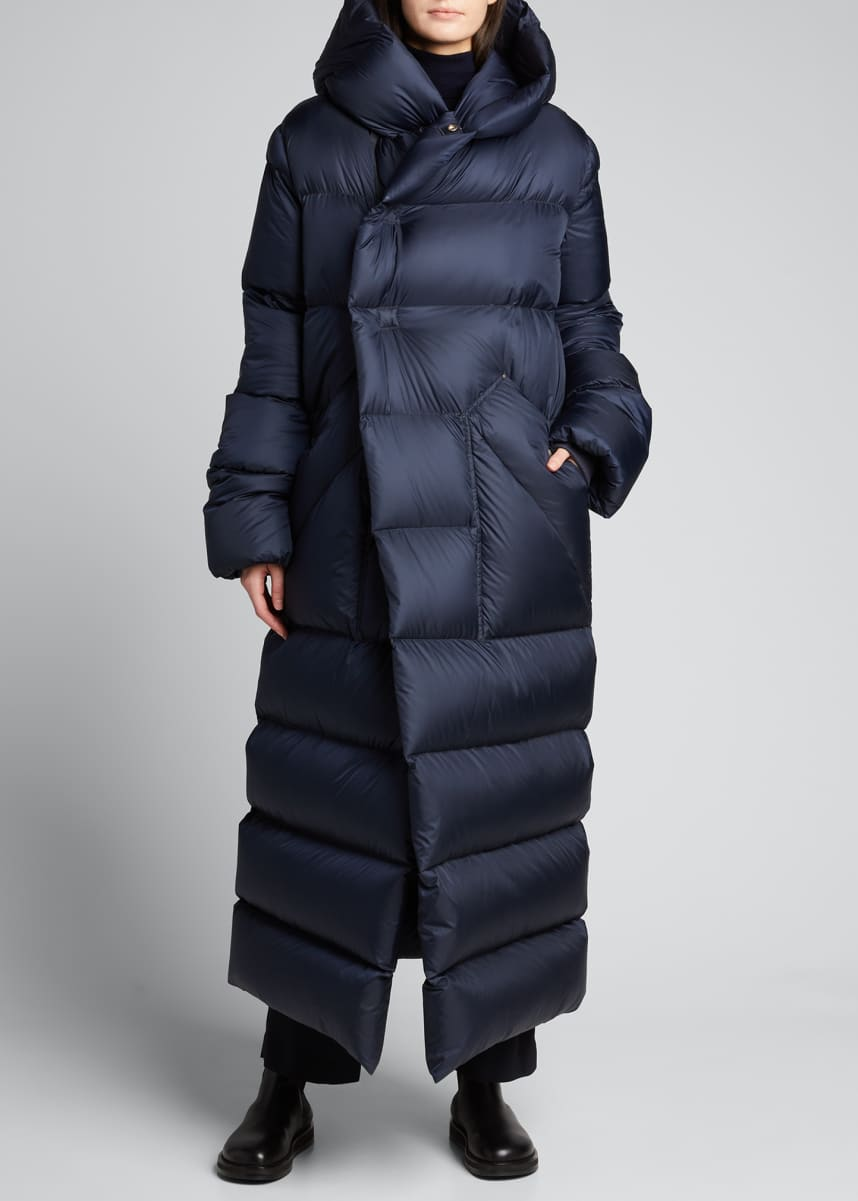 Rick Owens Oversized Maxi Hooded Puffer Jacket