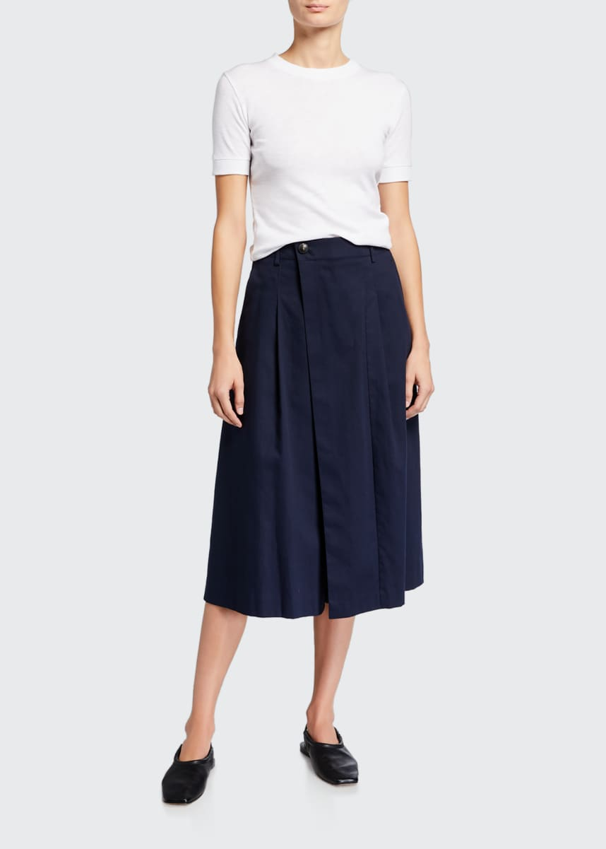 Vince Cross-Front Culottes
