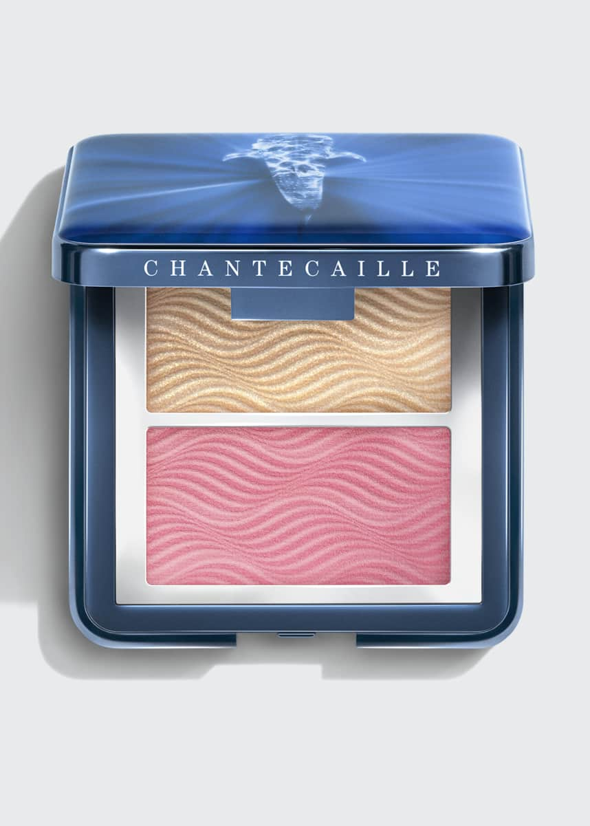 Chantecaille Radiance Chic Cheek and Highlighter Duo