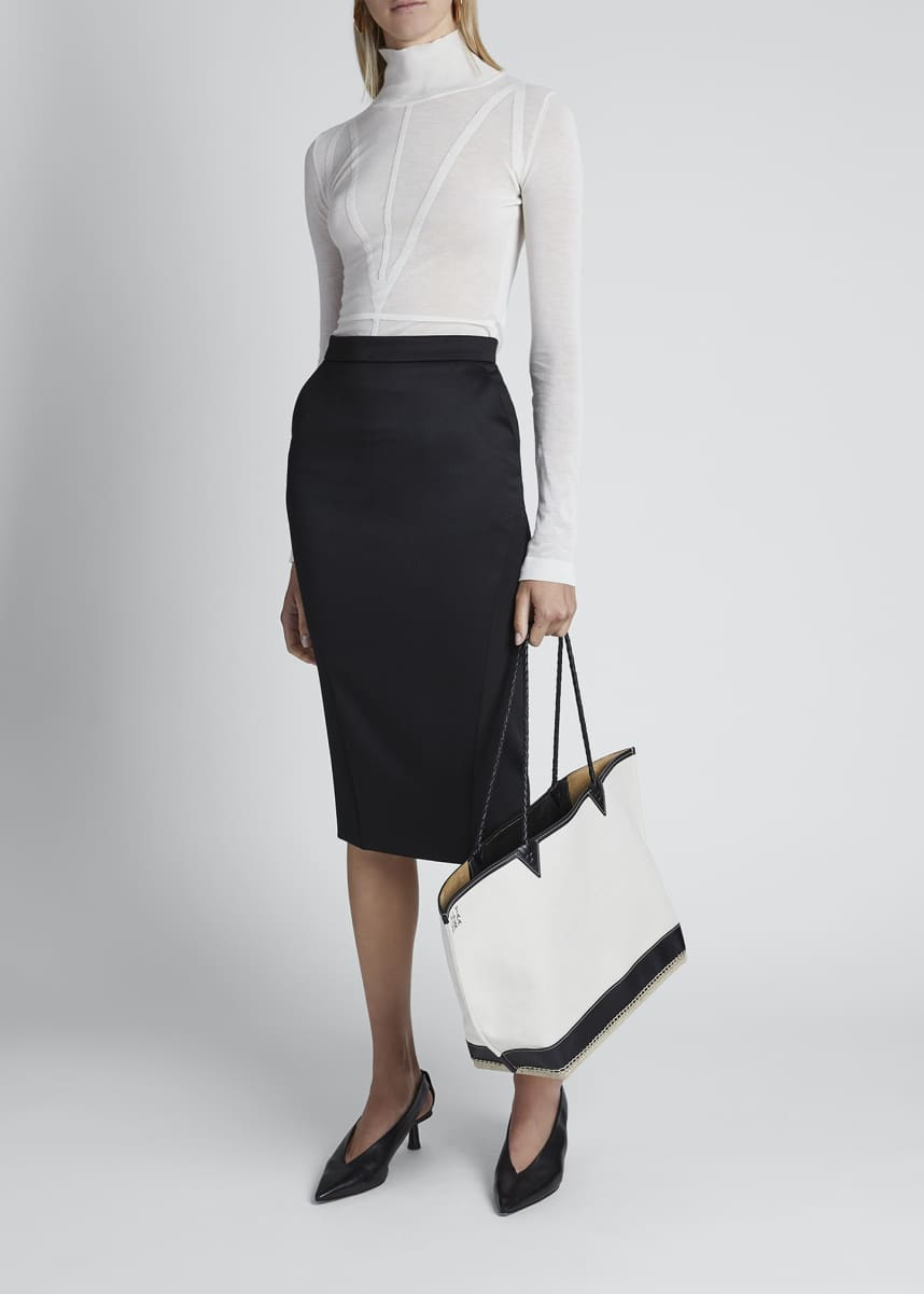 Altuzarra High-Waist Pencil Skirt