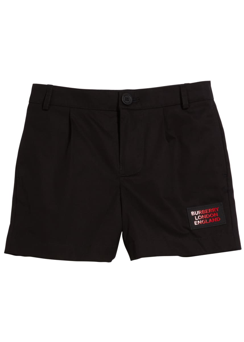 Burberry Boy's Shane Patch Shorts, Size 3-14