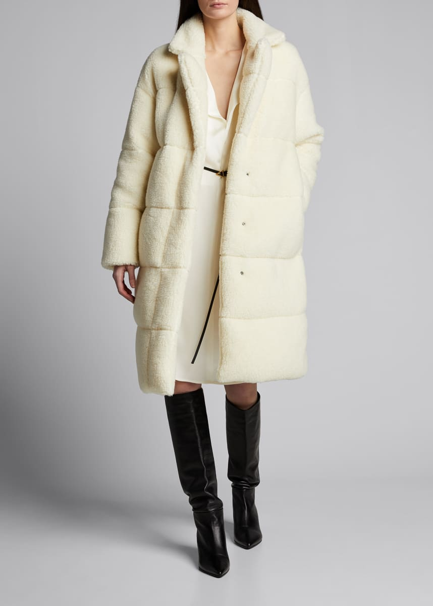 Moncler Bagaud Reversible Teddy Coat