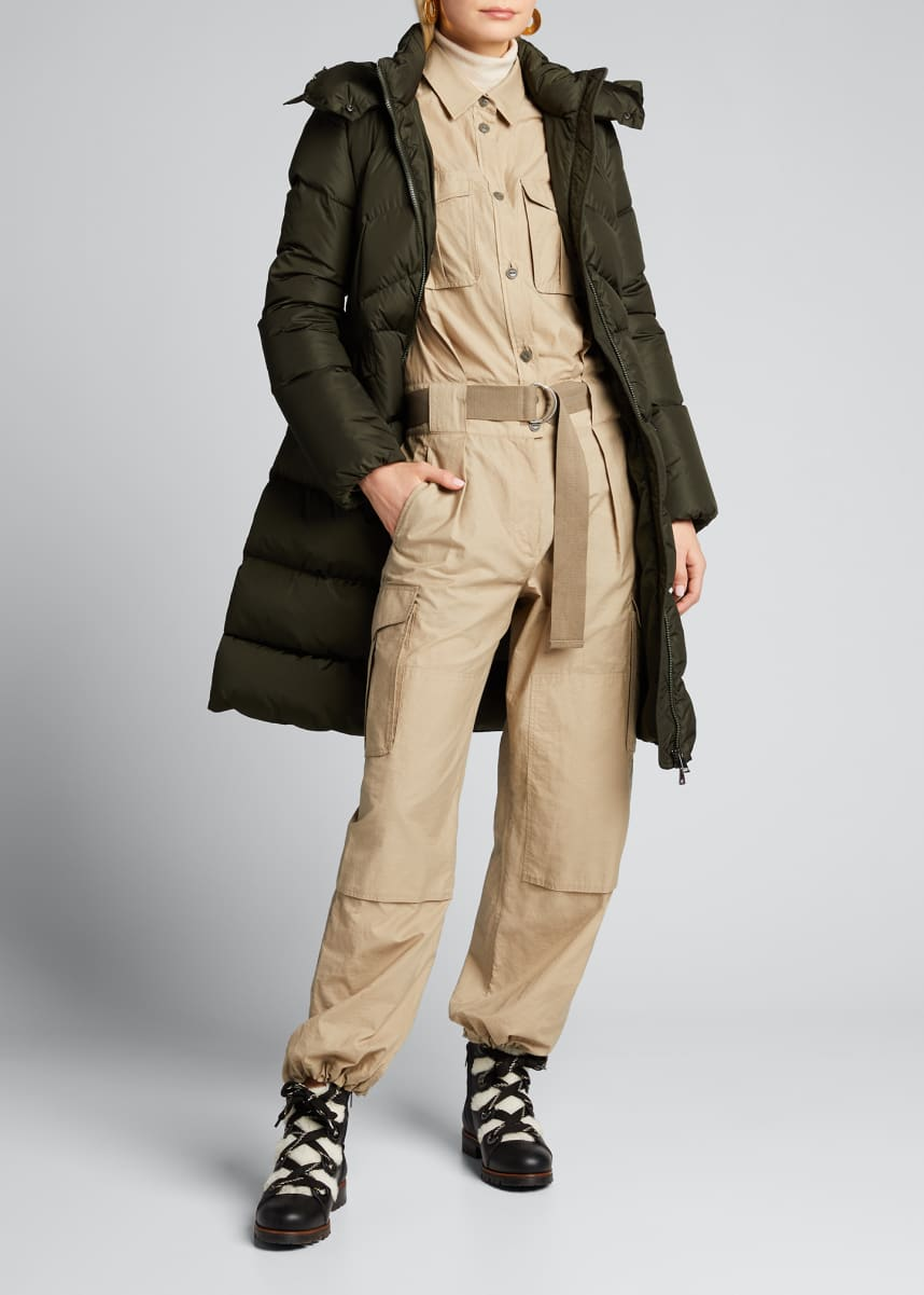 Moncler Agot Long Jacket