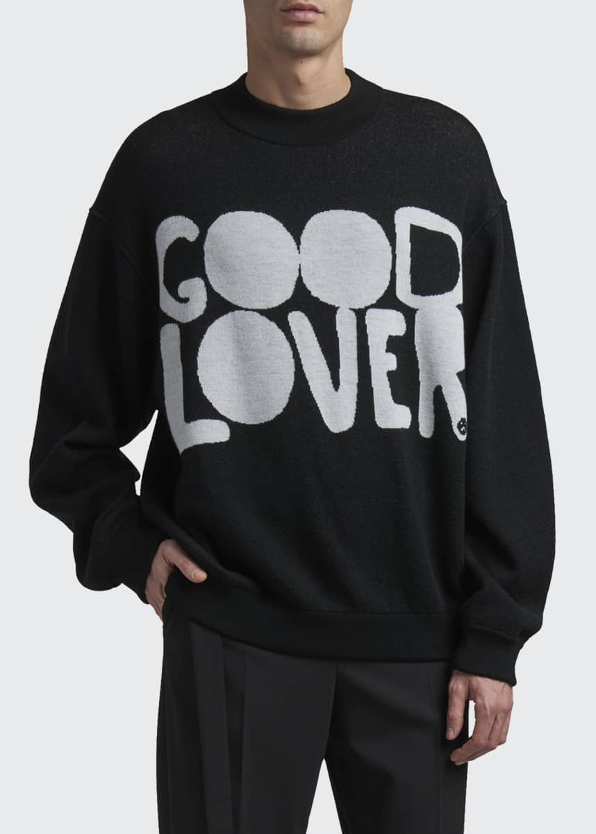 Valentino Men's Good Lover Wool Sweater