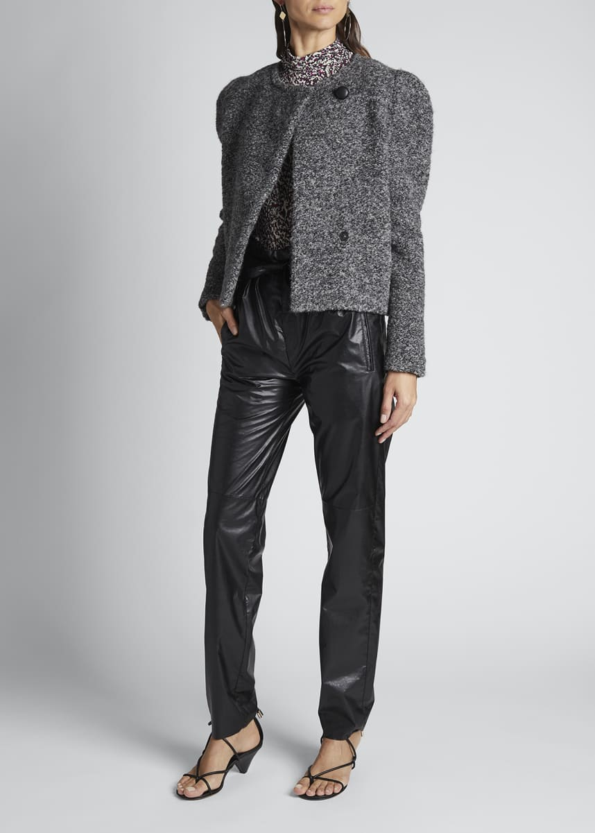 Isabel Marant Wool Moto Jacket