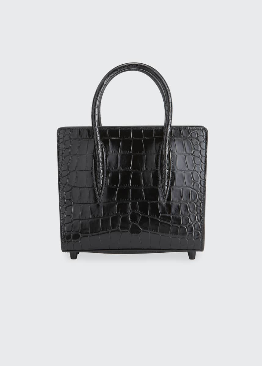 Christian Louboutin Paloma Mini Mock-Croc Tote Bag