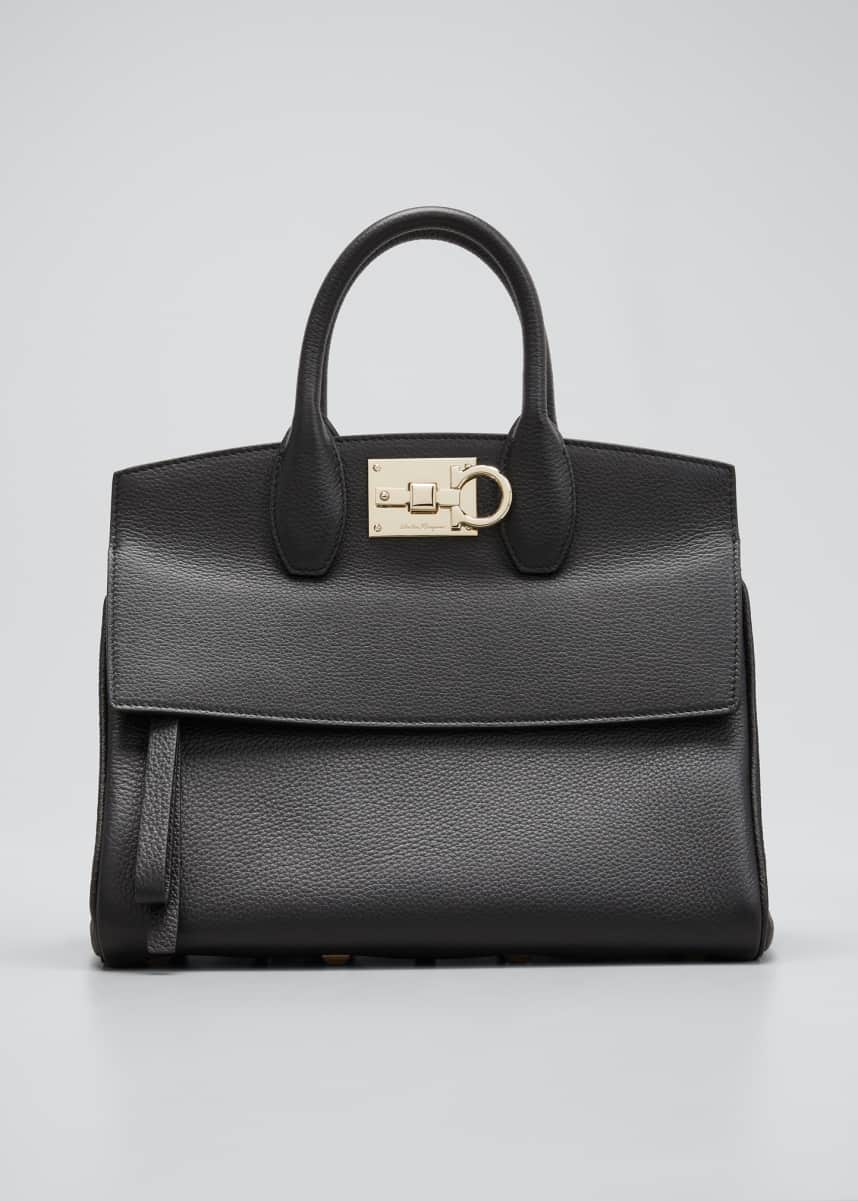 Salvatore Ferragamo Studio Top-Handle Bag