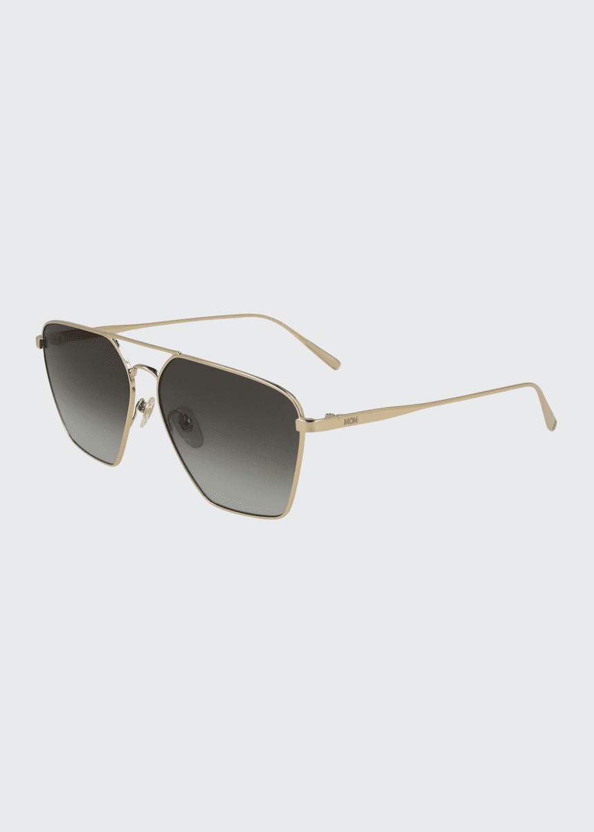 MCM Men's Geometric Navigator Sunglasses
