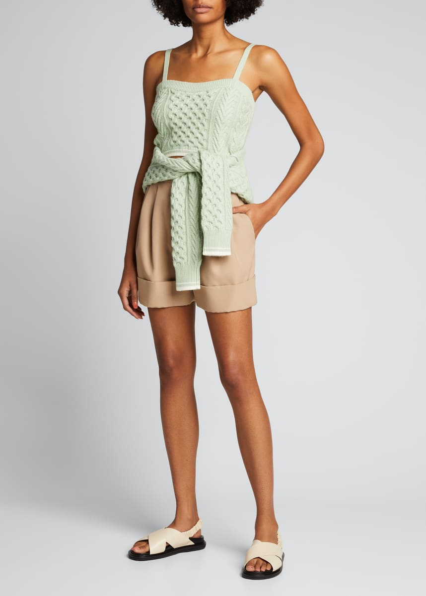 Rosie Assoulin Thousand-In-One Ways Knit Sweater