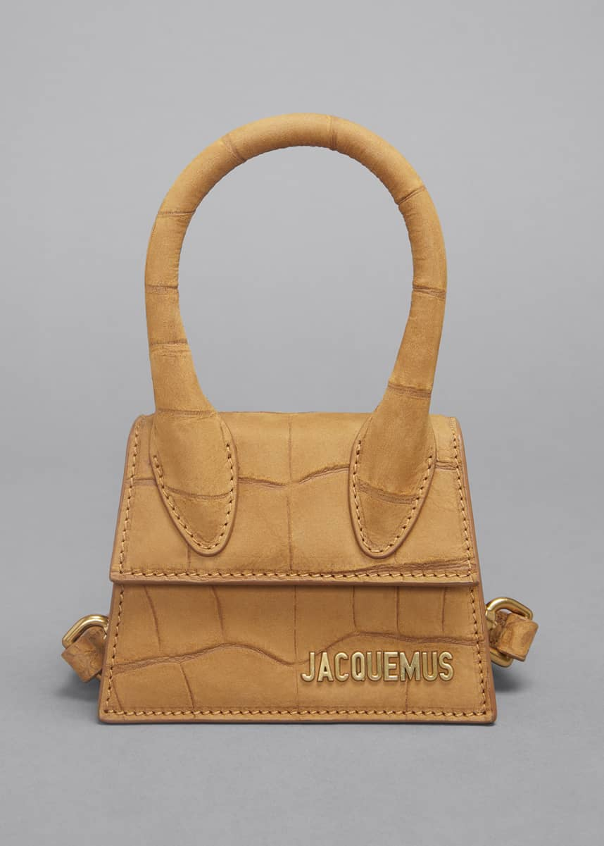 Jacquemus Le Chiquito Mock-Croc Top Handle Bag
