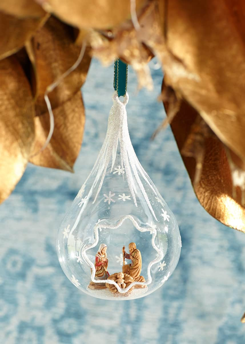 De Carlini Nativity Christmas Ornament