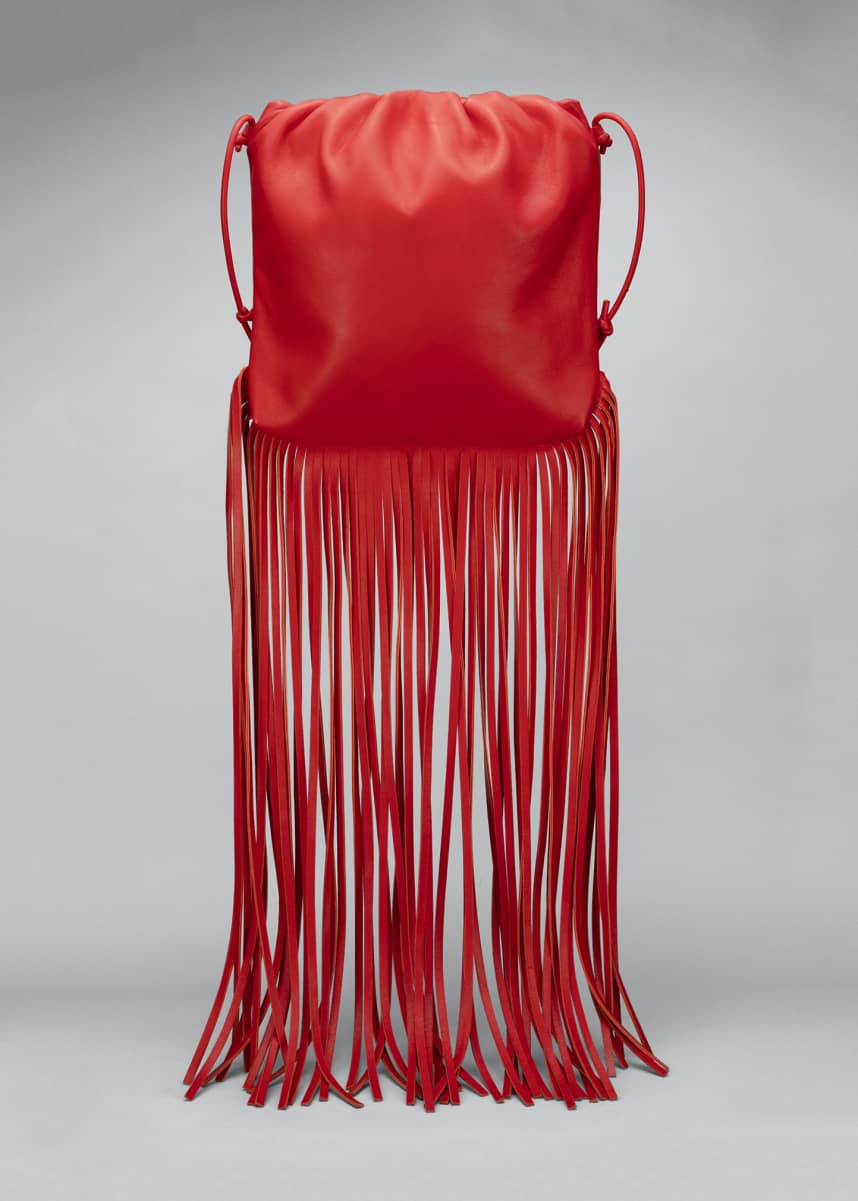 Bottega Veneta Fringe Napa Crossbody Bag