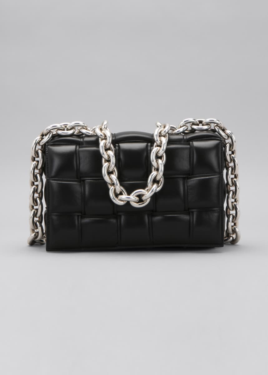 Bottega Veneta Padded Cassette Chain Shoulder Bag