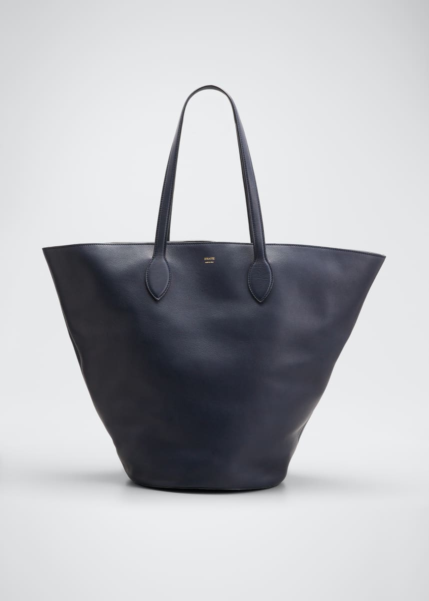 Khaite Osa Leather Medium Tote Bag